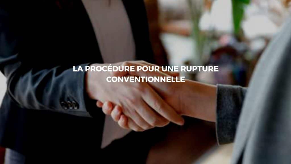 rupture contrat conventionnelle