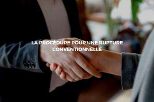 Un accord à l'amiable pour la rupture d'un contrat de travail